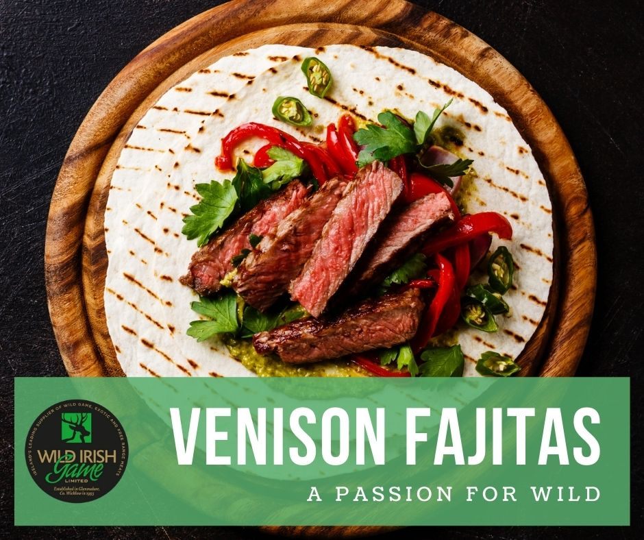 Venison Fajitas 1
