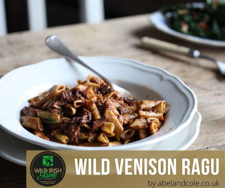 Wild Venison Ragu 1